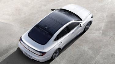 Hyundai Sonata with solar roof