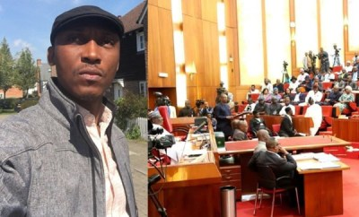 Frank Donga mocks the Nigerian senate over screening of Ministerial nominees