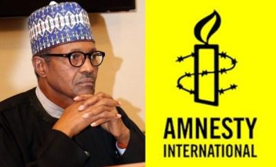 Presidency accuses Amnesty International of