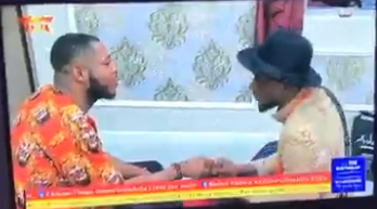 #BBNaija Omashola bursts into tears as he recounts how he lost his ex-girlfriend due to his bad behavior (video)