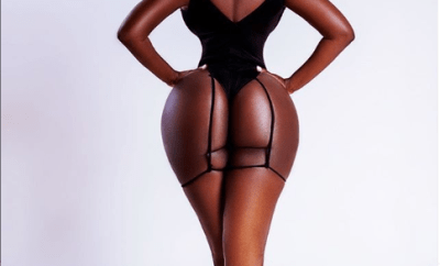 ?Princess Shyngle shows off her curvy behind in new photo