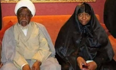 Breaking! El-Zakzaky and wife arrive Nigeria from India