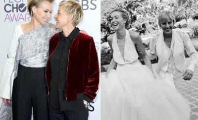 Ellen DeGeneres celebrates her wife, Portia de Rossi on 11th Wedding Anniversary