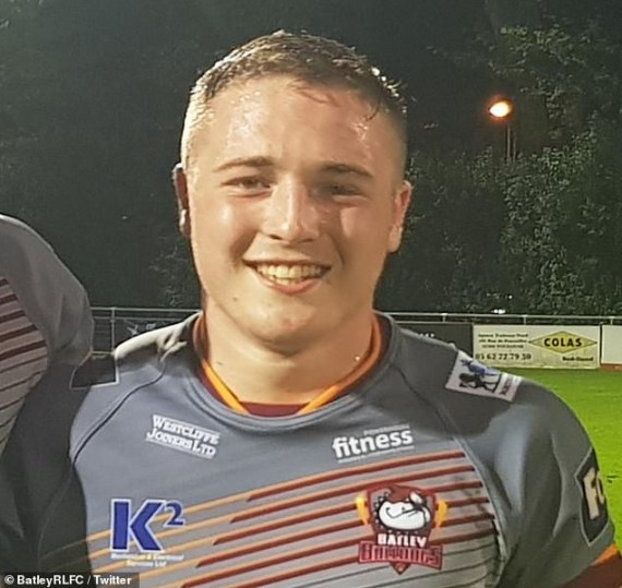 Rugby player Archie Bruce, 20, is found dead in his hotel room just hours after making his debut
