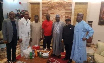 Germany attack: Senate President Ahmed Lawan, Chris Ngige, others pay Ekweremadu sympathy visit