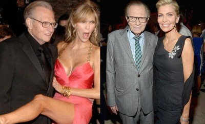 Larry King files for divorce from 7th wife, Shawn King
