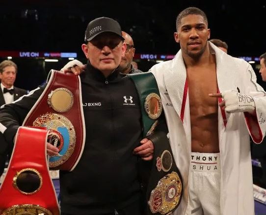 Anthony Joshua speaks on people asking him to sack his trainer ahead of Andy Ruiz rematch
