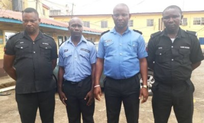 Lagos Police command arrest four officers seen in viral video shooting at unarmed suspects (Photo)