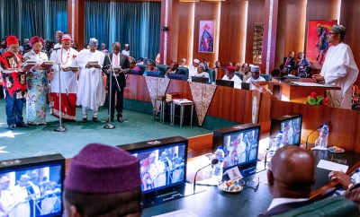 Full text of President Buhari?s speech at the inauguration of new ministers