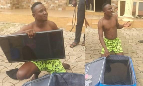 Man nabbed after stealing hotel