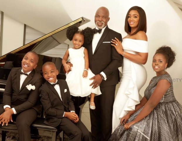 NFF President, Amaju Pinnick shares adorable family photos
