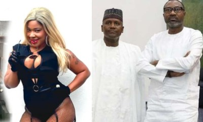 Porn star, Afrocandy tells Otedola and Dangote to solve Nigeria
