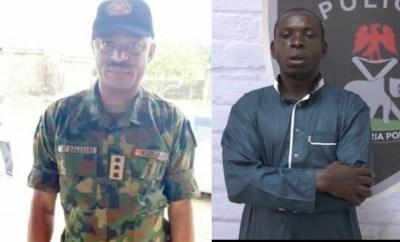 Photos of Army Captain who helped Taraba kidnap kingpin, Hamisu Wadume escape after ordering shooting of policemen