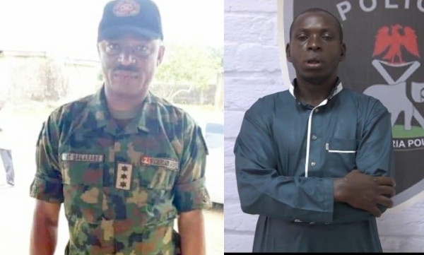 Photos of Army Captain who helped Taraba kidnap kingpin, Hamisu Wadume escape after ordering shooting of policemen