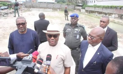 We did not demolish any mosque- Governor Nyesom Wike says