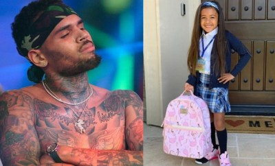 Chris Brown shares photo of his daughter, Royalty