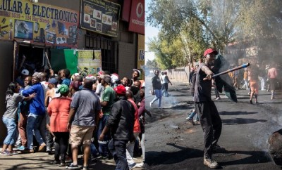 Xenophobia: Looting of shops owned by foreigners continues in South Africa, 300 Nigerians register for evacuation