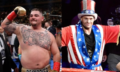 Andy Ruiz accuses Tyson Fury of fat-shaming him ahead of rematch with Anthony Joshua