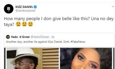 Kizz Daniel speaks on