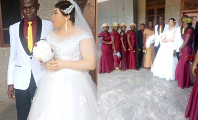 Beautiful lady marries a blind man in Nasarawa State (photos)