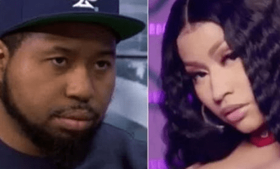 """If anything happens, she did it"" DJ Akademiks alleges that Nicki Minaj has ""put a hit"" on him"