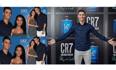 ?Cristiano Ronaldo steps out his stunning girlfriend Georgina Rodr?guez for his event in Italy (Photos)