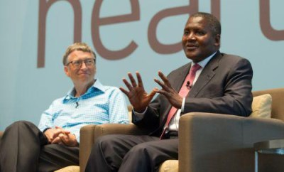 I hope to give out a large part of my wealth to charity like Bill Gates ? Dangote