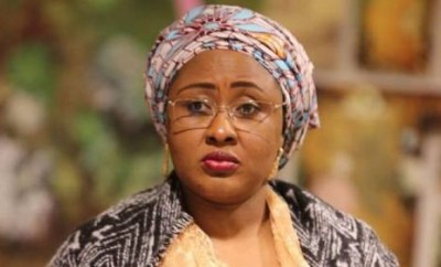 Aisha Buhari reportedly away from Aso Rock for over two months