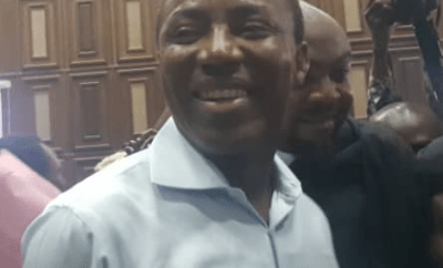 Court orders Sowore to be remanded in DSS custody
