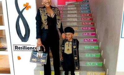 Tonto Dikeh asked to bring a Yoruba dish for her son