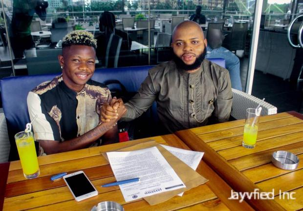 PHOTOS: Jayvfied Inc. And The Incredible DJ Vibez seal business deal signing