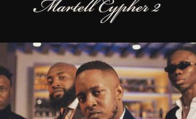 M.I Abaga, Blaqbonez, A-Q & Loose Kaynon - Martell Cypher 2
