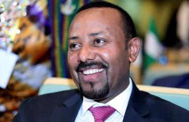 Ethiopian Prime Minister Abiy Ahmed attends the High Level Consultation Meetings of Heads of State and Government on the situation in the Democratic Republic of Congo at the African Union Headquarters in Addis Ababa, Ethiopia, 17 January, 2019.