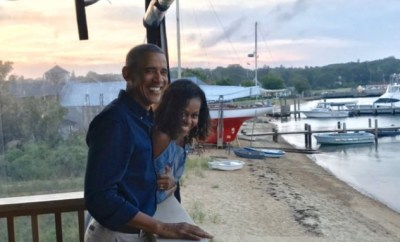 Michelle Obama showers Barack with encomium as they celebrate their 27th wedding anniversary