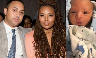Eva Marcille shares new photo of her newborn son