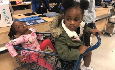 Davido shares adorable photo of his daughters
