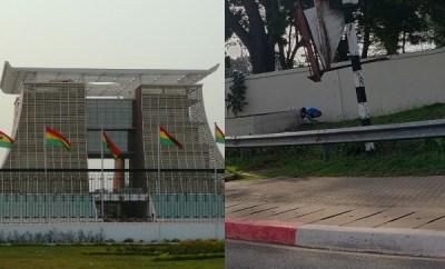 Man caught pants down ?shitting? on Ghana