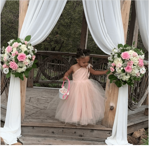Serena Williams shares adorable photos of 2-year-old daughter Olympia as a Flower Girl