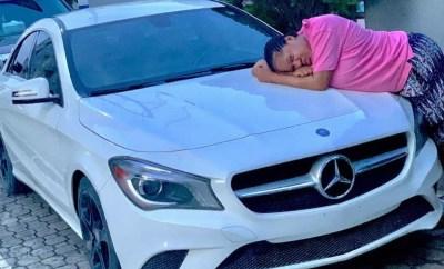 Toyin Abraham buys a new car
