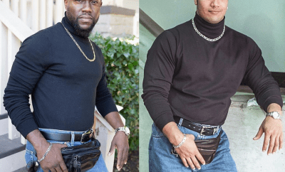 "Kevin Hart dresses up as Dwayne ""The Rock"" Johnson for Halloween (Photo/Video)"