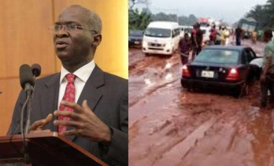 Our roads are not as bad as they are portrayed - Fashola