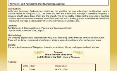 Check out this of a kind wedding invitation