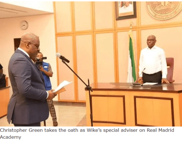 Photo:?Governor Wike appoints?special adviser on