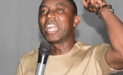 Sowore continues hunger strike for sixth day to protest continued detention by DSS