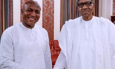 President Buhari congratulates Bayelsa Governor-elect David Lyon
