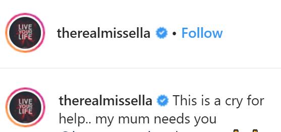 My mum needs 600k for operation - Ex-BBNaija housemate Ella cries for help