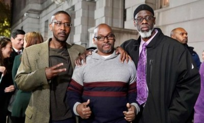 Three men wrongly jailed for life, set free after 36 years in prison (photos)