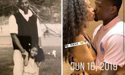 """Started as father and daughter, ended as husband and wife"" woman says as she shares photo of her kissing a man she claims is her father"