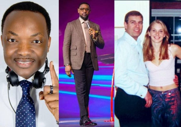DJ Abass points out the similarities between Biodun Fatoyinbo and Prince Andrew