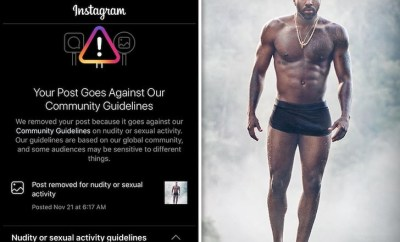 Singer Jason Derulo slams Instagram for removing his steamy underwear photo due to